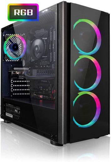 PC Gaming - Megaport Ordenador Gaming PC AMD Athlon 3000G 2X 3
