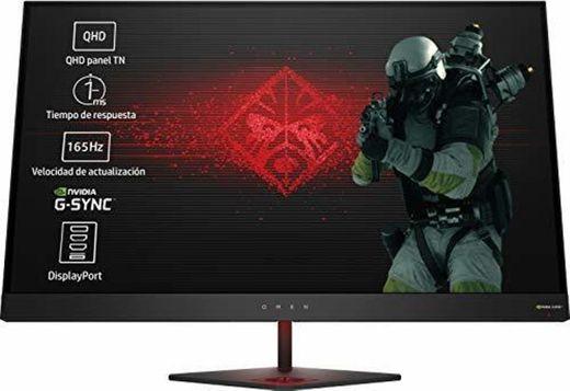 HP OMEN 27 - Monitor gaming de 27 pulgadas G-sync