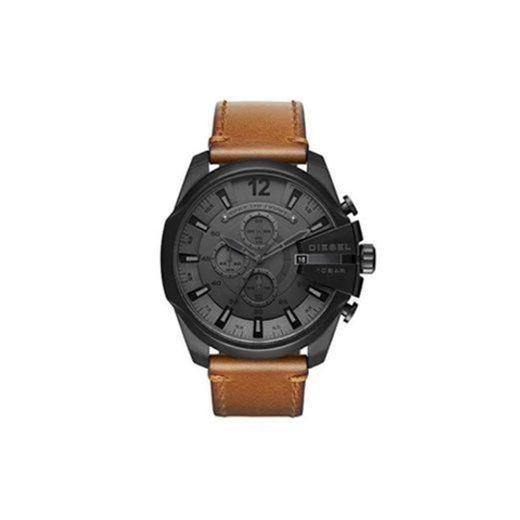 Diesel Reloj Cronógrafo para Hombre de Cuarzo con Correa en Piel DZ4463