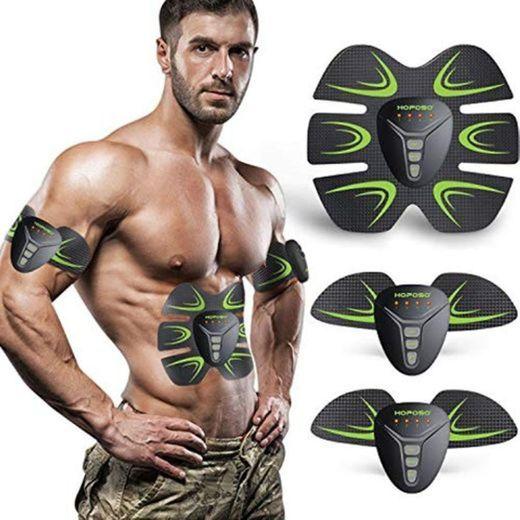 HOPOSO Electroestimulador Muscular Abdominales