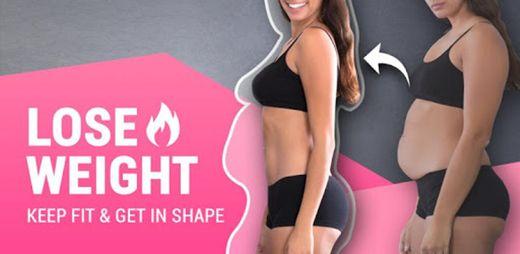 App mara bajar de peso mujeres - Entrena en casa. 🔥🔥👌