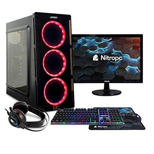 NITROPC - PC Gaming Pack Bronze Rebajas   PC Gamer (CPU Ryzen