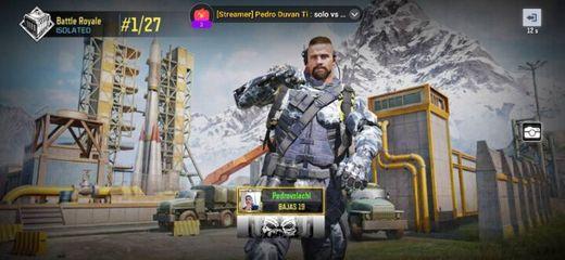 Pagina de Gaming de Call Of Duty Mobil. Apoyame en mi stream