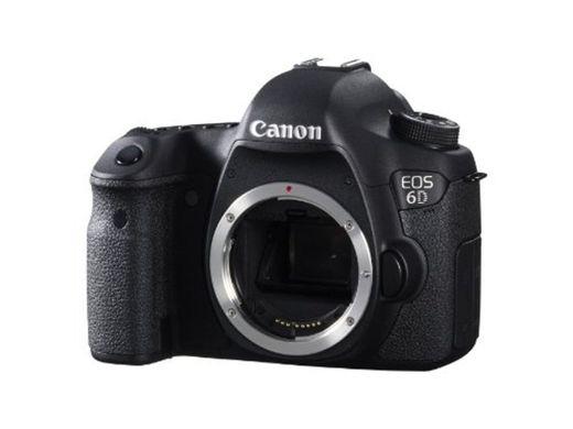 Canon EOS 6D - Cámara réflex digital de 20.2 Mp