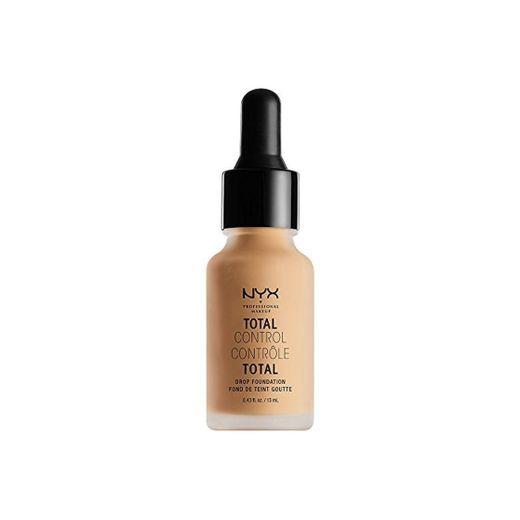 NYX Professional Makeup Base de maquillaje Total Control Drop Foundation, Dosificación precisa,