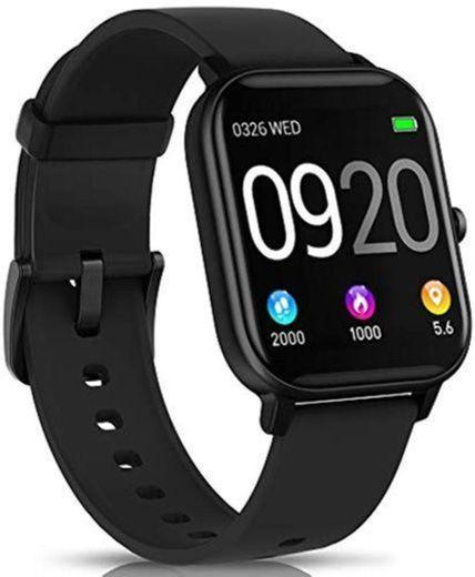 "NAIXUES Smartwatch, Reloj Inteligente Impermeable IP67 Reloj Deportivo 1.4"" Pantalla Táctil Completa"