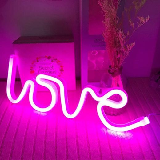 Battery Operated Decoration Love