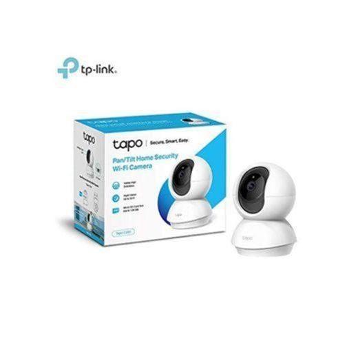 TP-Link - Cámara IP WiFi y webcam, admite tarjeta SD de hasta