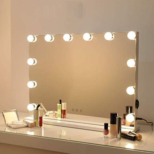 Bright Beauty Vanity – Espejo Hollywood – Espejo de maquillaje – Espejo