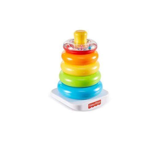 Fisher-Price - Pirámide Balanceante, Juguete para Bebé +6 Meses