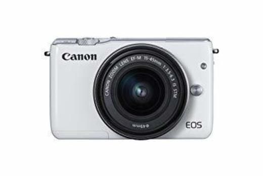 Amazon.com : Canon EOS M10 Mirrorless Camera Kit with EF-M 15 ...