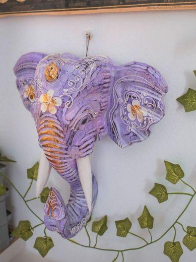 Elefante decorativo para pared