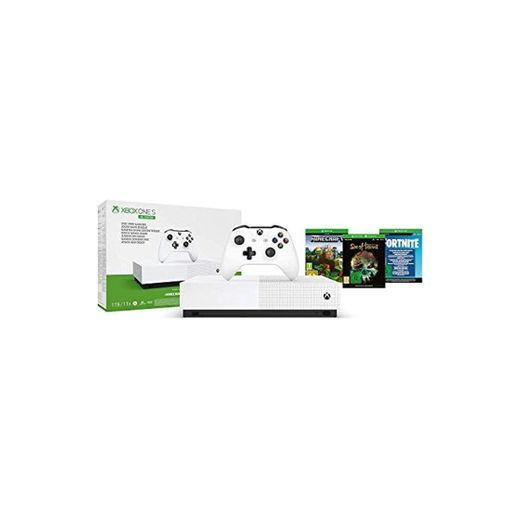 Microsoft - Xbox One S 1 TB All-Digital Edition, Fortnite