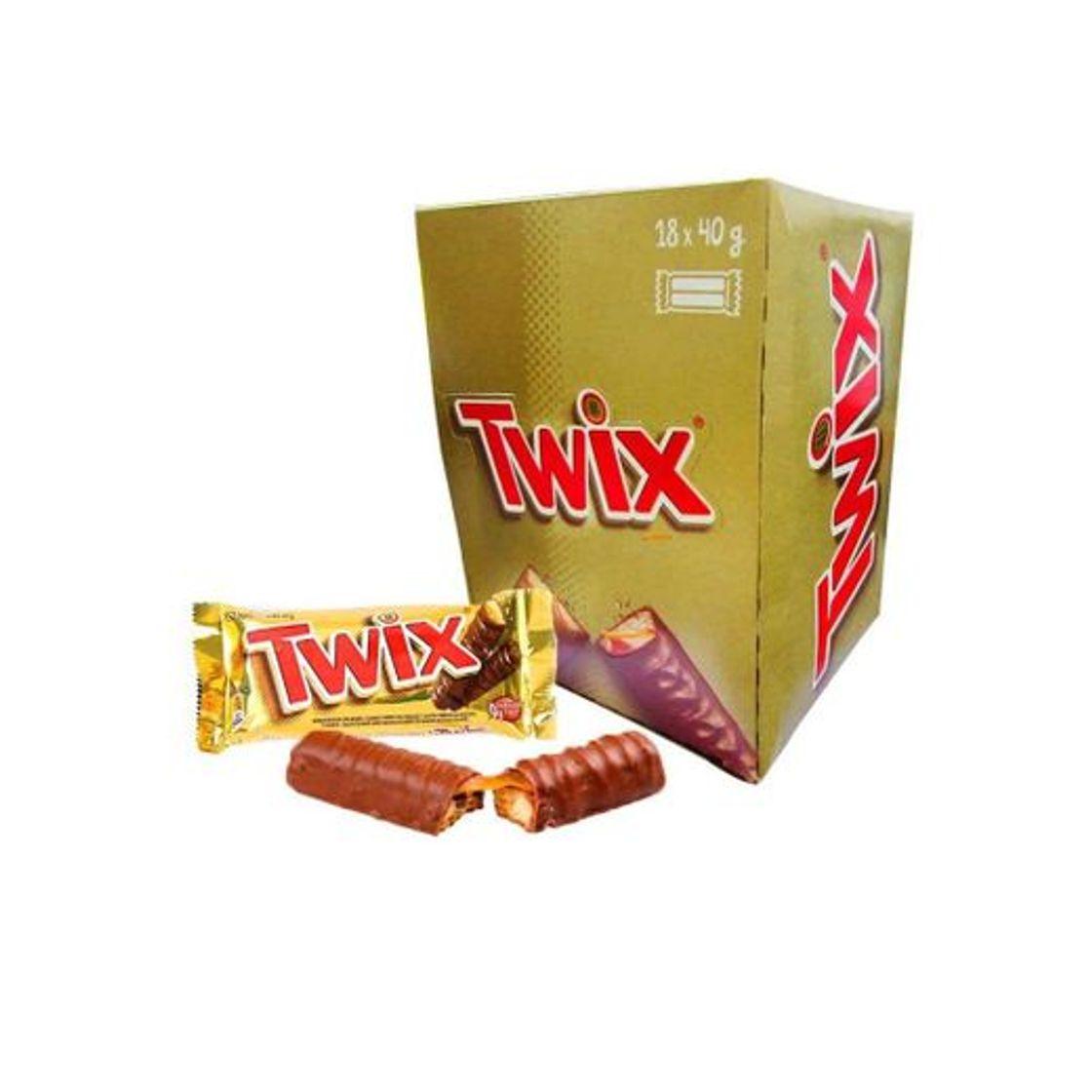 Twix Chocolate Duplo caixa com 18 unidades