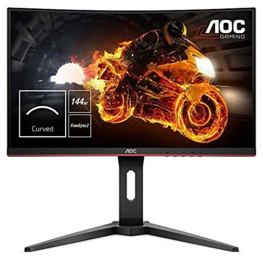 "AOC C24G1 - Monitor Gaming Curvo de 24"" con Pantalla Full HD"