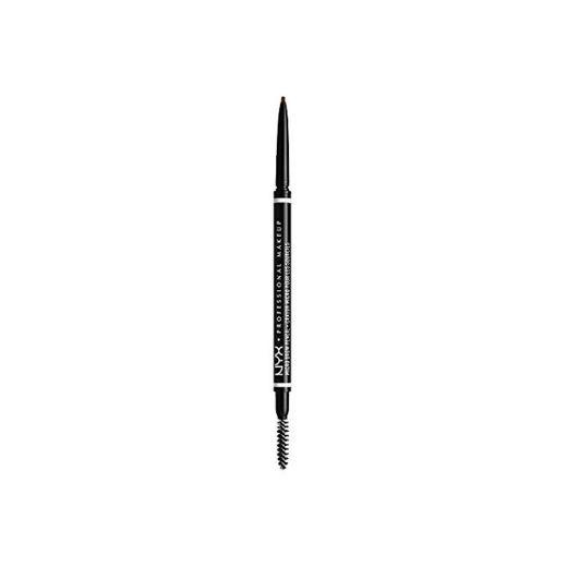 NYX Professional Makeup Lápiz de cejas adecuadas Micro Brow Pencil, Dos lados