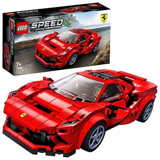 LEGO Speed Champions - Ferrari F8 Tributo, Set de Construcción de Coche
