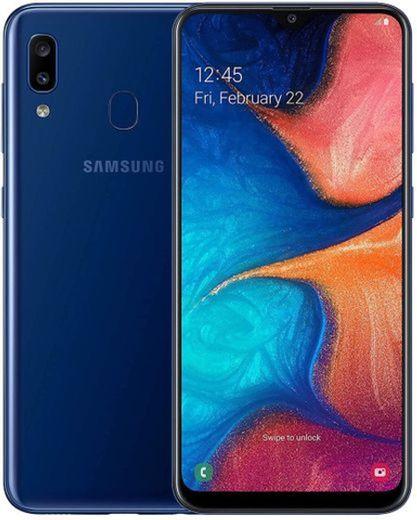 Samsung A20E, Smartphone Super AMOLED
