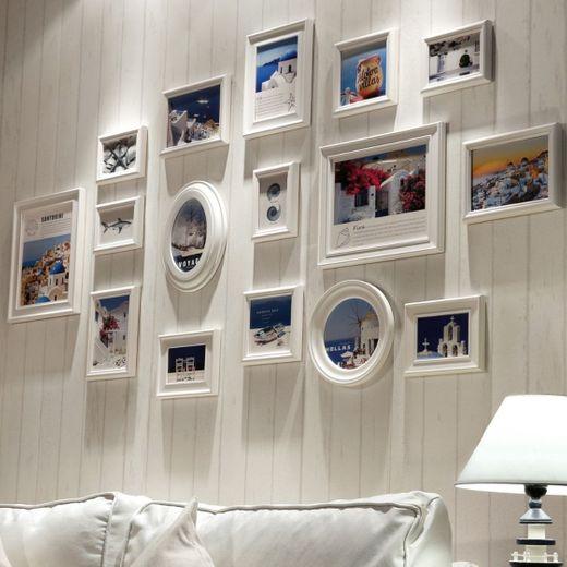 marcos de fotos Collage de marco de foto Madera de combinación de