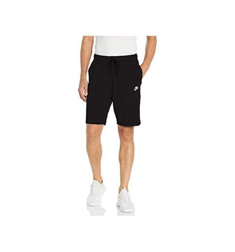 NIKE Club Short JSY Pantalones Cortos, Hombre, Negro