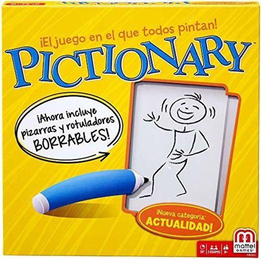 Mattel Games - Pictionary, Juegos de Mesa
