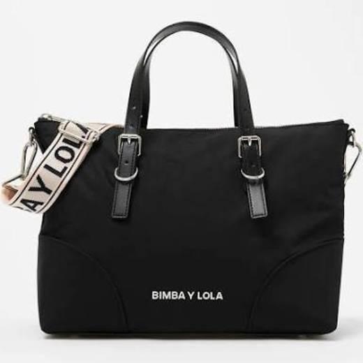 Shopper preto BIMBA Y LOLA