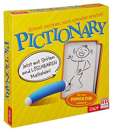 Mattel Games Pictionary Juego de Mesa de Palabras - Juego de Tablero