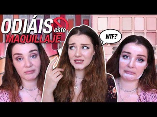 ME MAQUILLO CON PRODUCTOS QUE ODIÁIS!!! *Maquillaje FAIL ...