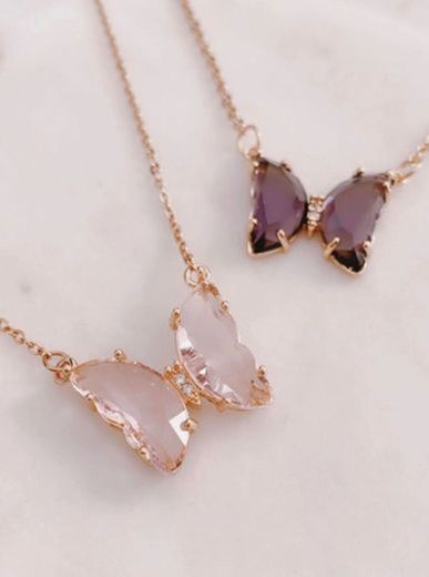 Butterfly Crystal 💜✨