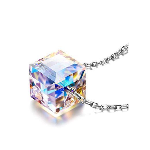 Alex Perry regalos de navidad mujer collares cadena de plata mujer cristal