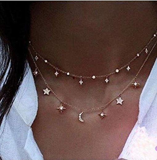 8m Nordvpn Simple Chapado en Oro Tassel Coin Bar Collar Clavícula Cadena