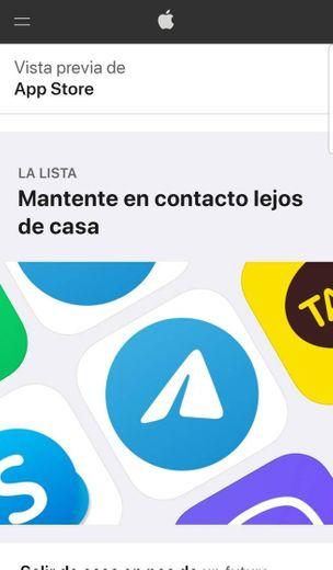 Mantente en contacto lejos de casa - App gratis
