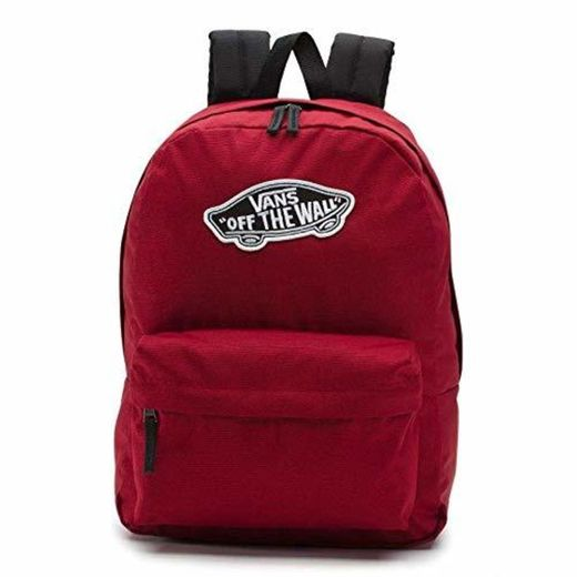 Vans Realm Backpack Mochila Tipo Casual 42 Centimeters 22 Rojo