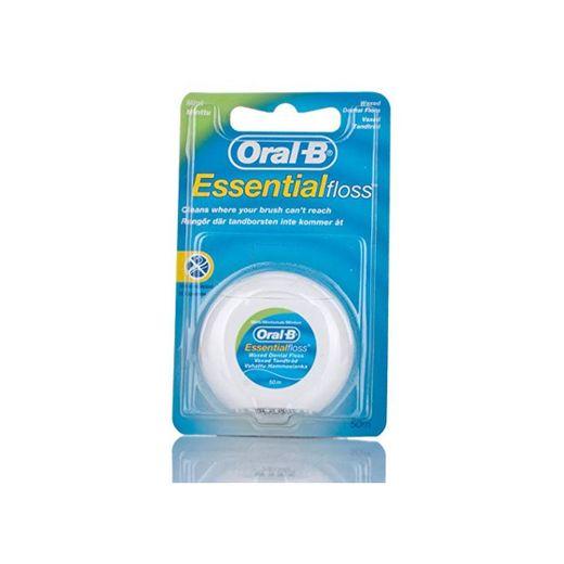 Oral-B Essential - Hilo de menta encerado