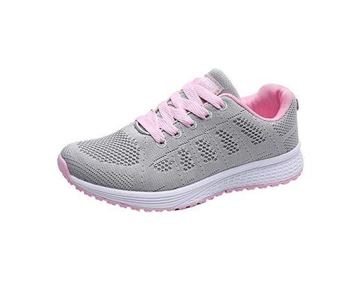 Decai Zapatillas de Deportivos de Running para Mujer Deportivo de Exterior Interior