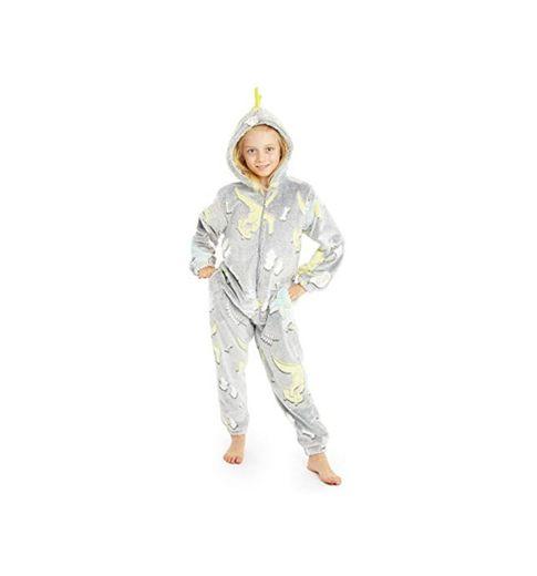 CityComfort Pijamas de Animales Enteros Niños One Piece Soft, Unicorn Costume Girl
