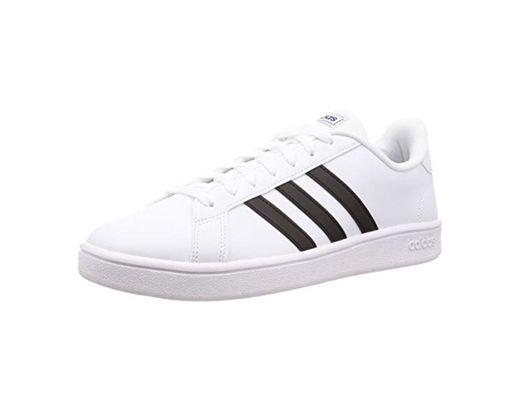 adidas Grand Court Base, Zapatos de Tenis para Hombre, Ftwbla Negbás Azuosc,