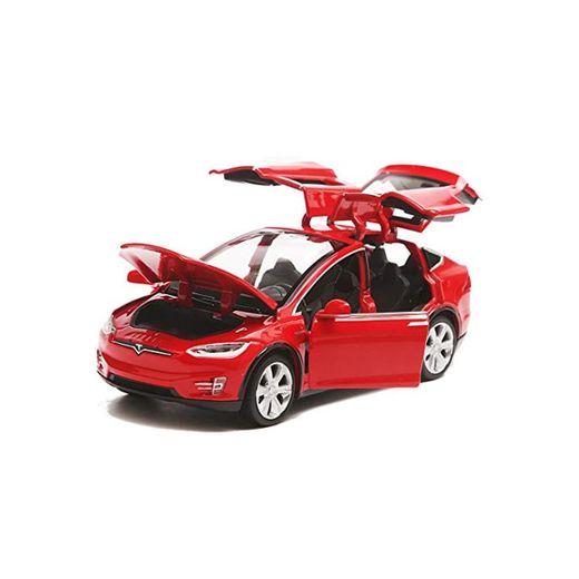 EisEyen Tesla Model X 90 - Coche de juguete, escala 1