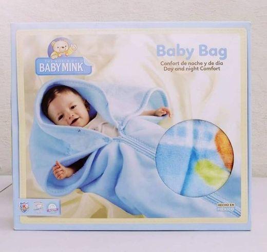 Baby mink baby bag