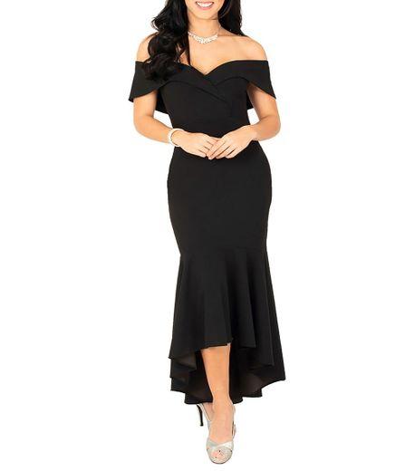 Liz Minelli Vestido de Fiesta asimétrico Mujer - El Palacio de Hierro