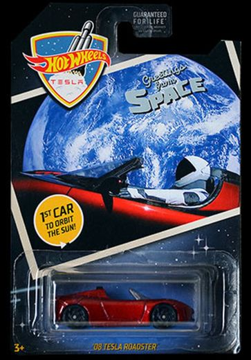 Mattel Space Roadster Tesla Toy