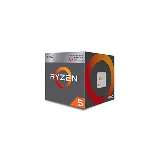 AMD Ryzen 5 3400G, Procesador con Disipador de Calor Wraith Spire