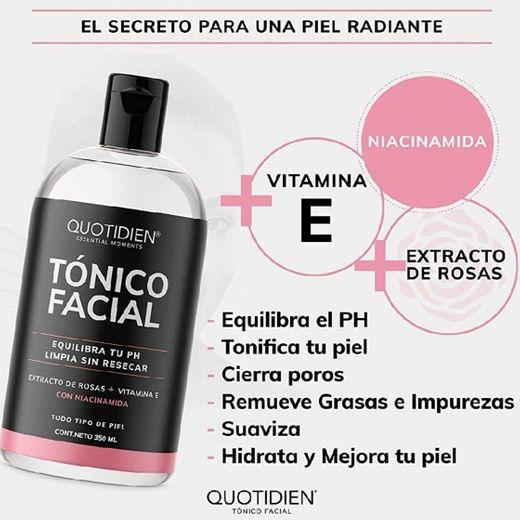 Quotidien Tonico Facial con niacinamida