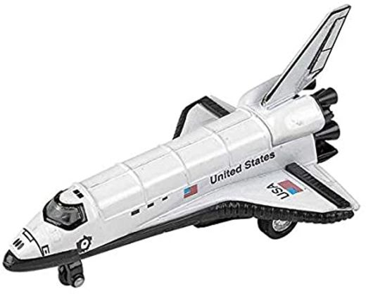 5 Diecast Pullback Space Shuttle