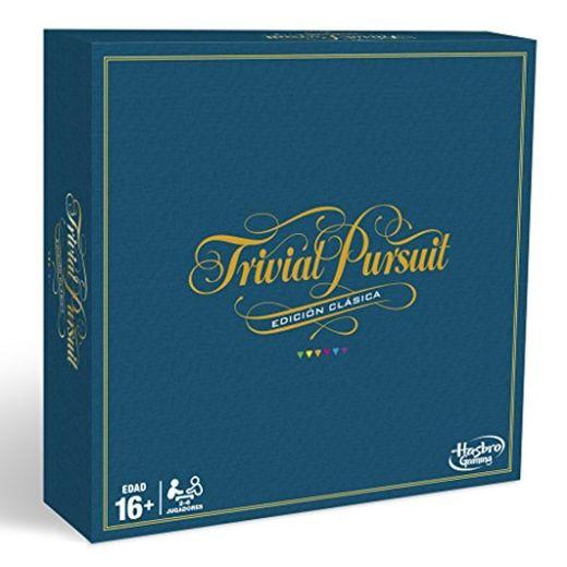 Hasbro Gaming - Trivial Pursuit, edición clásica