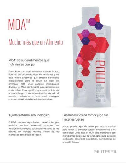 MOA: 36 superalimentos que  nutrirán su cuerpo