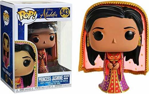 Funko Pop! Aladdin Princess Jasmine Desert Moon Exclusive #543