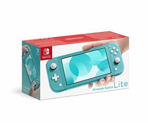 Nintendo Switch Lite - Consola color Azul Turquesa
