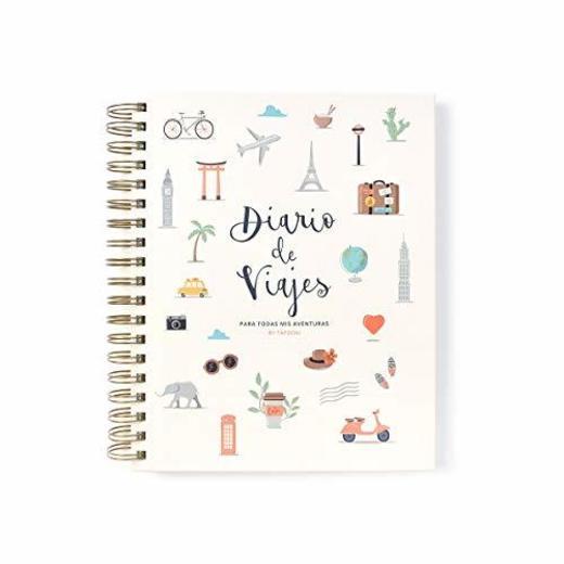Tapooki Diario de Viajes para todas tus aventuras