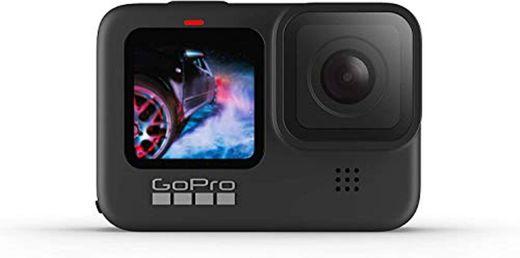 GoPro HERO9 Black - Cámara de acción Sumergible con Pantalla LCD Delantera